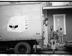 New Orleans Ice Truck